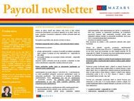 Mazars Payroll Newsletter 2/2016