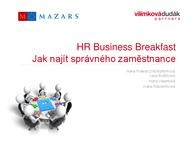 Recruitment a marketing - 22.1.2016